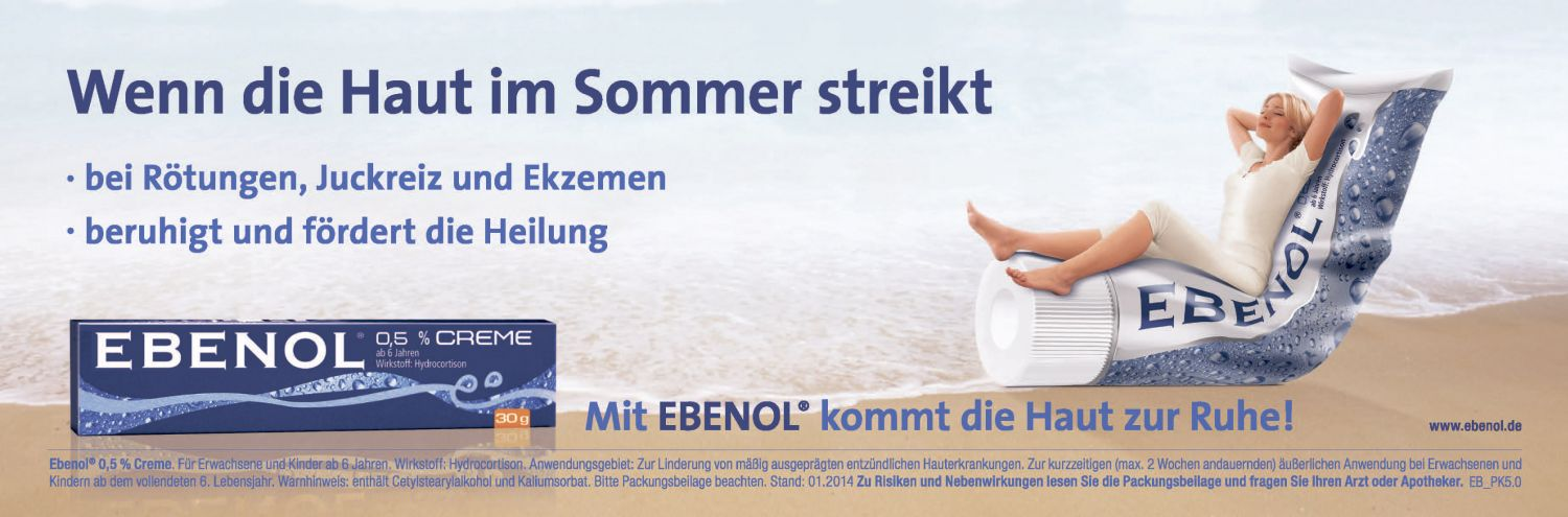 Anzeige: Ebenol Sun After Care
